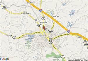 Comfort Inn Nashville Map Of Best Western Leisure Inn Crossville