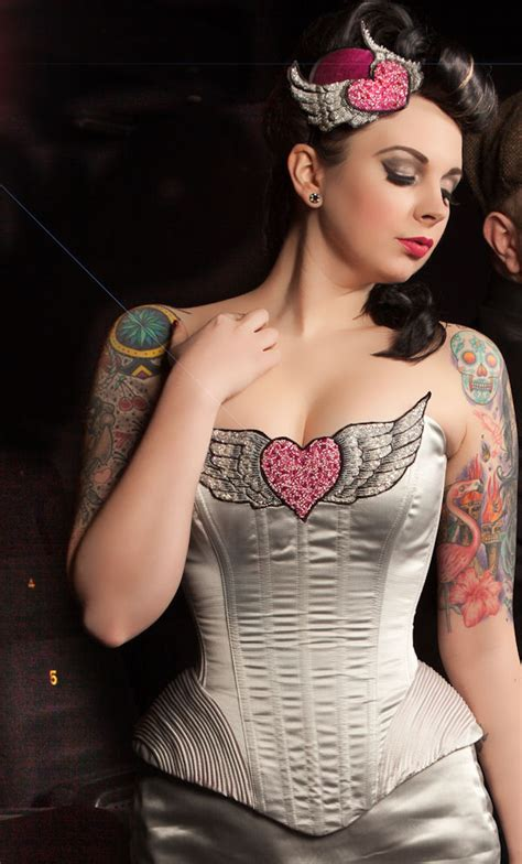 couture tattoo alternative wedding dresses on tattooed brides