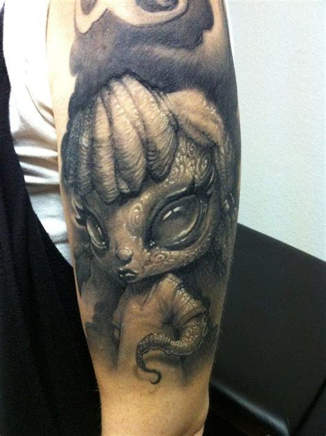 tattoo images evil evil little girl tattoo by tommy lee wendtner tattoonow
