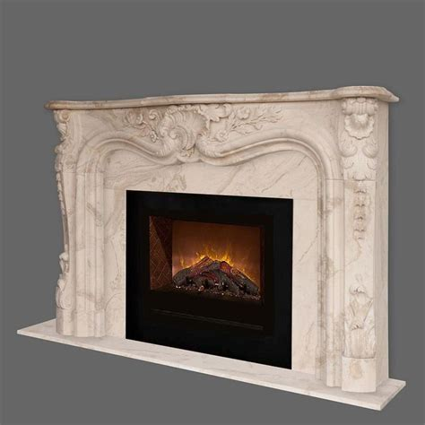 Electric Marble Fireplace by Homefire Electric Fireplace 105 Orleans Marble Mantel