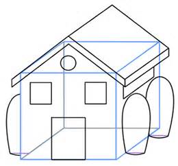 easy houses to draw pics for gt how to draw a simple house