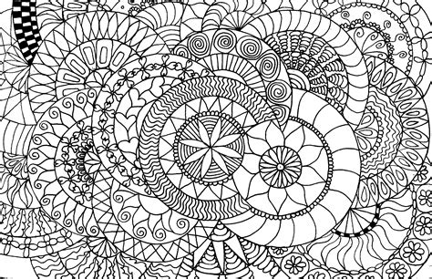 Overlapping Mandalas 9 Nov 2014 S Coloring Book