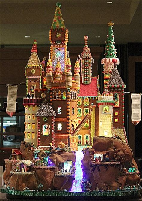 seattle gingerbread houses seattle sheraton gingerbread village 2012 the brothers grimm one hundred