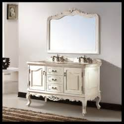 French Bathroom Furniture by Thailand Oak Solid Wood European French Style Double Sink