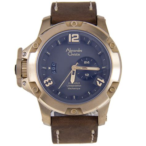 Alexandre Christie Ac 6417 World Time 1 alexandre christie bronzium limited edition ac6339ma