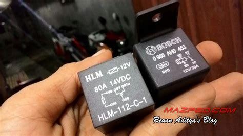 Alarm Motor Remote Starter Vinyx pasang alarm remote vinyx mazpedia