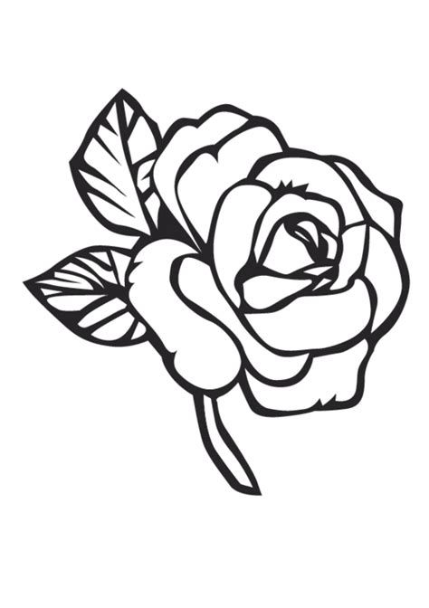 free coloring pages of mo roses