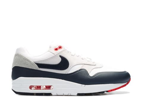 Air Max Nike Merah 1 air max 1 quot patch quot nike 704901 146 white obsidan flight club