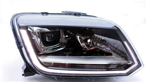 volkswagen amarok bi xenon headlights led ultimate left