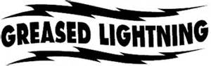 Greased Lightning Car Stickers Design Your Own Decal Popular Decals Greased Lightning