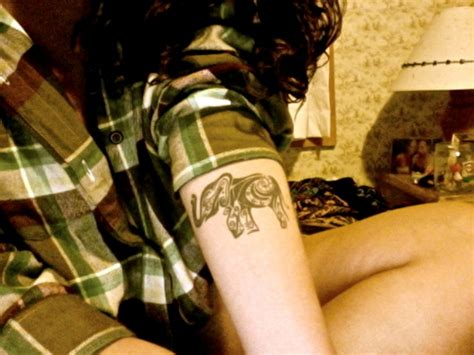 elephant tattoo girl fascinating themes in tribal elephant tattoo