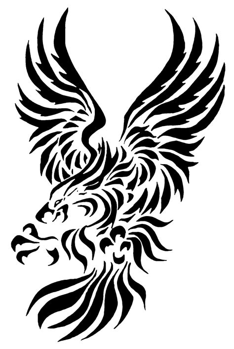 eagle tattoo tribal eagle images designs