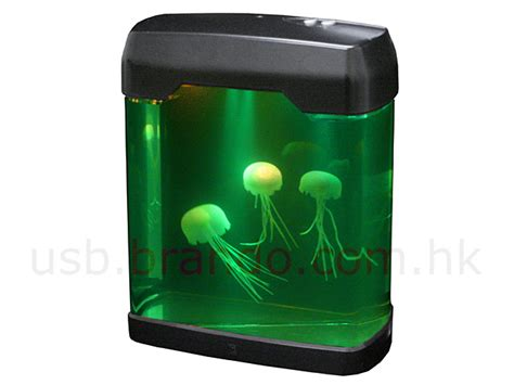Aquarium Usb usb jellyfish mini aquarium with moody light