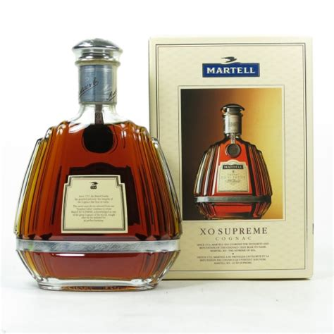 martell xo supreme martell xo supreme cognac whisky auctioneer scotch