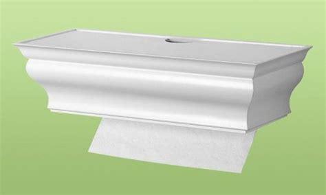 Healthy Shelf Paper Towel Dispenser by Healthy Shelf 174 Wall Mount Single Sheet Multi Fold Paper Towel Dispenser