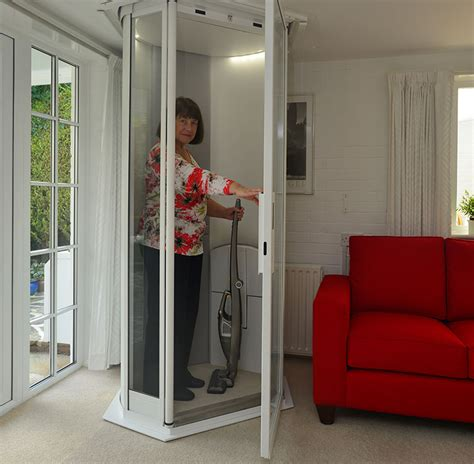 Small Home Elevators Uk Mr Mrs Kapadia A Lift For A Fit Terry Lifts