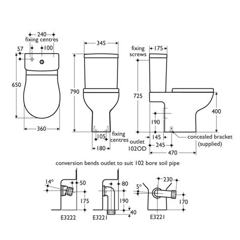 Water Closet Standard Size by American Standard Toilet Dimensions Quotes