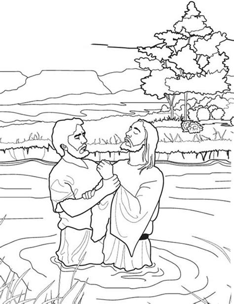 coloring pages of the birth of john the baptist dazzling design inspiration john the baptist coloring