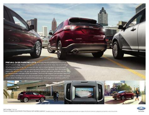 ford edge brochure 2017 ford edge brochure farmington ford dealer