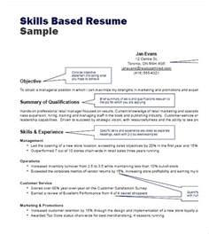 Resume Exles Of Professional Skills Skills Based Resume Sle Pdf Free Sles Exles Format Resume Curruculum Vitae