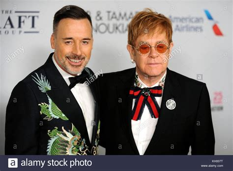 elton john and husband david furnish and his husband elton john attend the gala