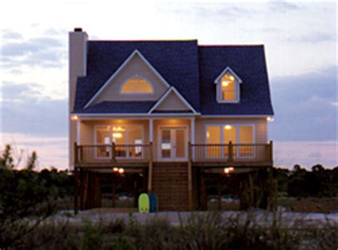 Beach House Plans On Pilings by Home Plans With Pier Foundations House Plans And More