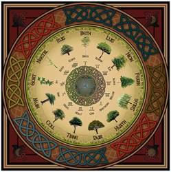 ancient celtic tattoos ogham tree calendar digital art by ireland calling