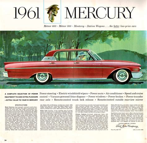 Sell Home Interior Directory Index Mercury 1961 Mercury 1961 Mercury Full