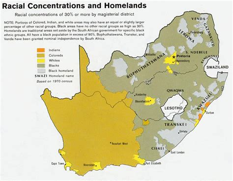 Ethnic Map Of Africa by South Africa Joshua Project