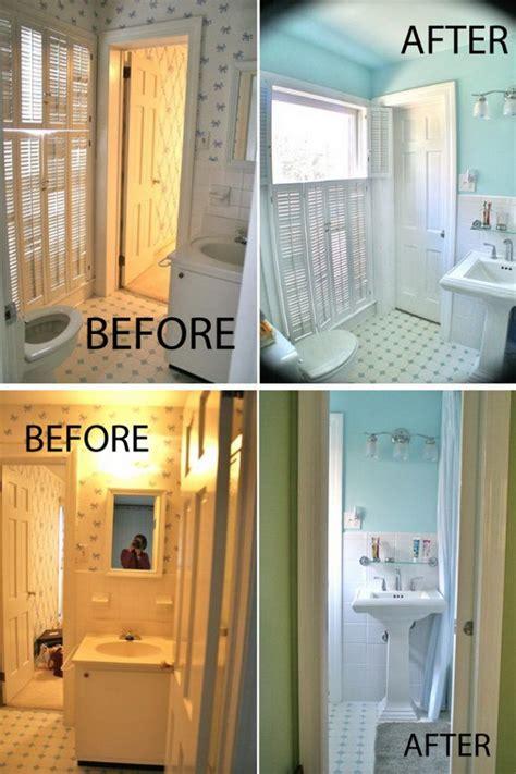 diy bathroom remodel before after amazing bathroom makeovers diycraftsguru