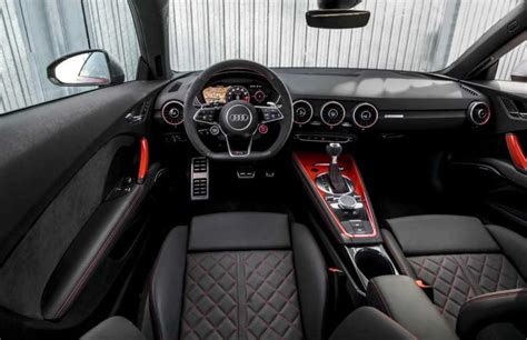 Audi Tt Interior by 2018 Audi Tt Rs Release Date In The Usa Price Specs News