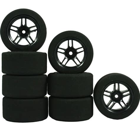 Mini Sponge Tire Set yeah racing 1 10 mini foam tire set wheels and tires