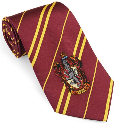 harry potter house ties thinkgeek
