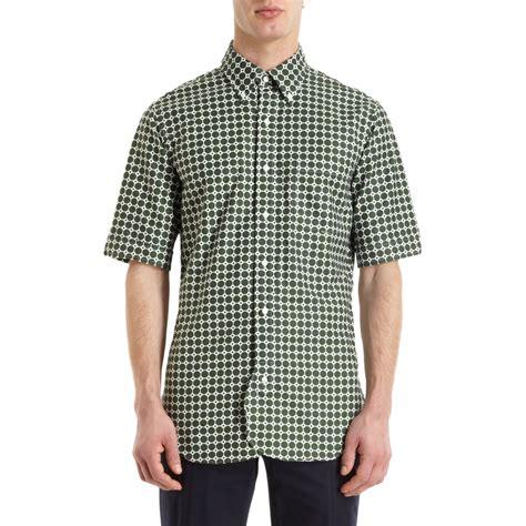 Honeycomb Pattern Shirt | black fleece by brooks brothers honeycomb pattern short