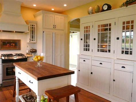 Cottage Kitchen Furniture Coolest Cottage Style Kitchen Islands 12 Regarding