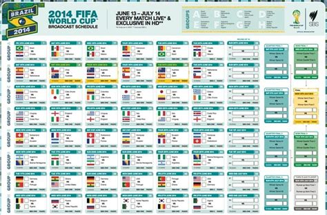 fifa world cup schedule search results for printable schedule world cup 2015