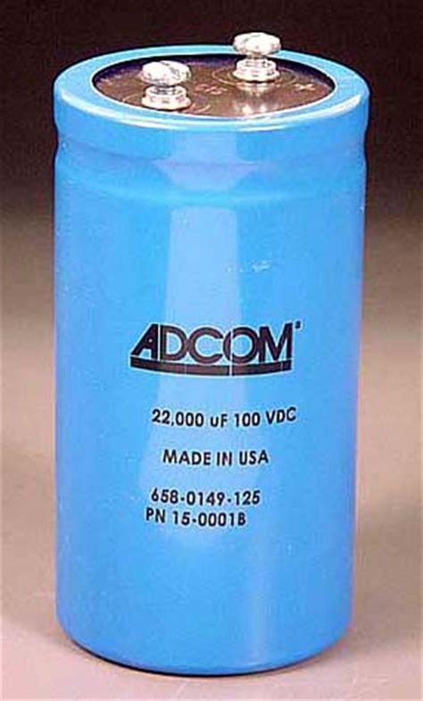 adcom gfa 555 capacitors adcom gfa 555 leaky power caps diyaudio