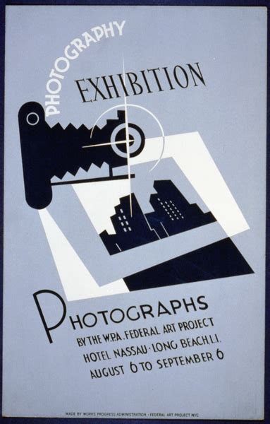 photography exhibition photographs   wpa federal