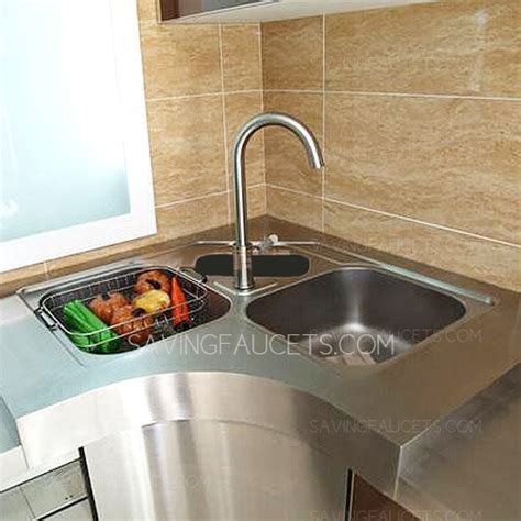 corner kitchen sinks for sale designed stainless steel three bowls corner kitchen sinks no faucet 529 99