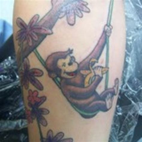 george papas tattoo curious george birthday pictures to pin on