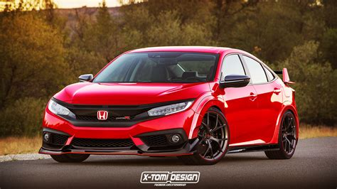 honda civic sedan gets the type r treatment