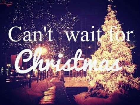 wait  christmas love quote happy waiting christmas hurry  chistmas tree