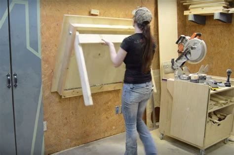 diy fold garage workbench best 25 folding workbench ideas on diy tools
