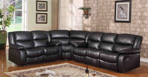 sofa store curved reclining sofa