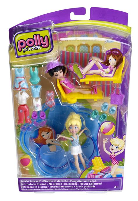 Polly Set by Polly Pocket Poolin Around Doll Set Buy In South