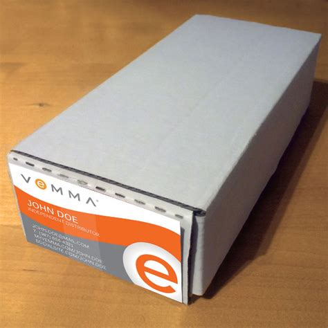 Vemma Business Card Template by Business Card Shipping Boxes Gallery Business Card Template