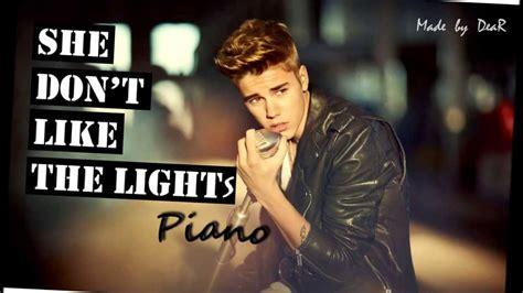 She Don T Like The Lights by She Don T Like The Lights Justin Bieber Karaoke Hd