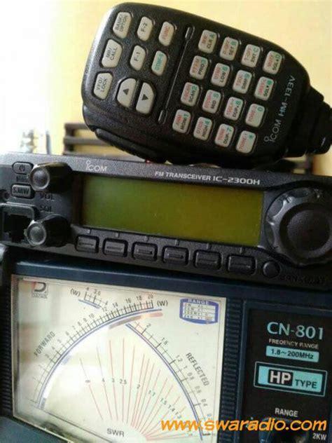 Radio Rig Icom Ic 2300h Original dijual rig icom ic 2300h muluzz masih segel lengkap mic ori bawaan swaradio