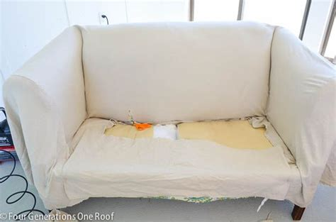 how to reupholster a couch cushion 1000 ideas about recover couch on pinterest couch