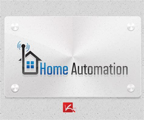 home automation logo design kick solutions web design firm digital marketing firm